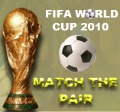 Play FIFA 2010 MATCH THE PAIRS game